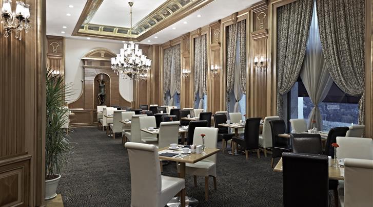 Istanbul, Hotel Senator, Restaurant