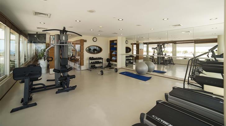 Istanbul, Hotel Best Western The President, Fitnessruimte