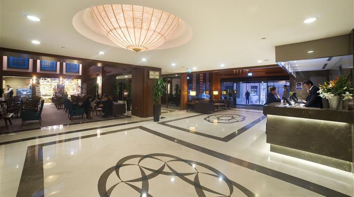 Istanbul, Hotel Best Western The President, Lobby