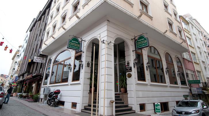 Istanbul, Hotel Centrum