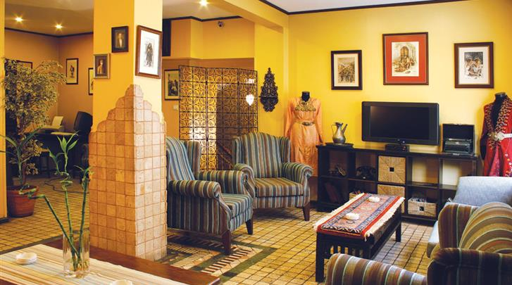 Istanbul, Hotel Fehmi Bey, Lobby