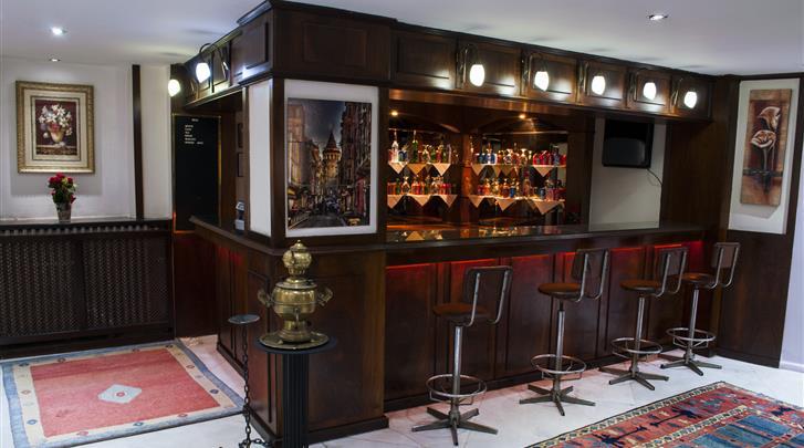 Istanbul, Hotel Hali, Hotel bar
