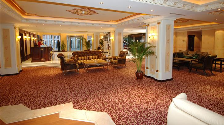 Istanbul, Hotel Lady Diana, Lobby