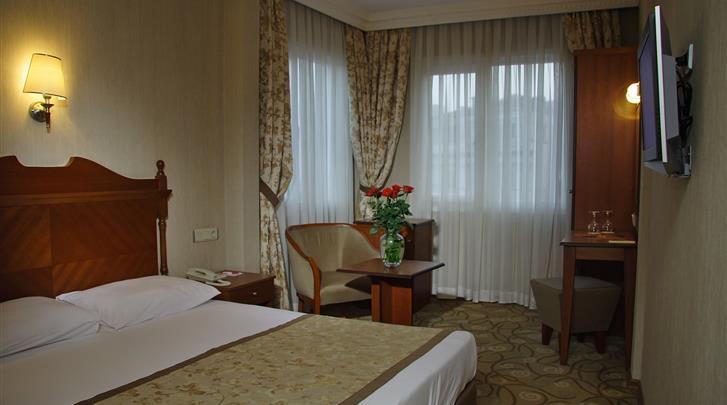 Istanbul, Hotel Lady Diana, Standaard kamer