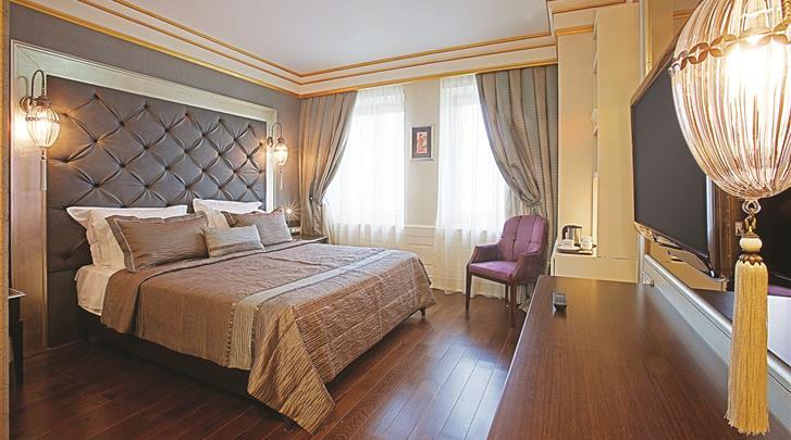Istanbul, Hotel Levni, Standaard kamer