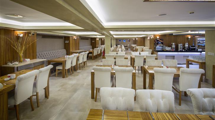 Istanbul, Hotel Orka Royal, Restaurant