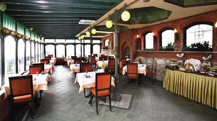 Istanbul, Hotel Sultanahmet Palace, Restaurant