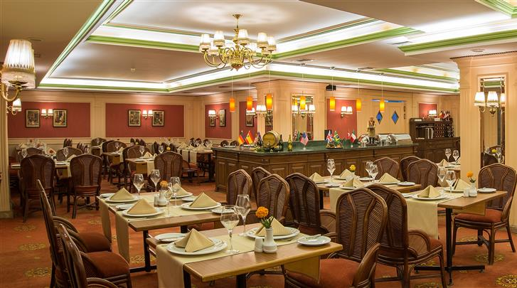 Istanbul, Hotel Yigitalp, Restaurant