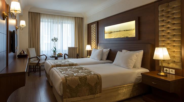 Istanbul, Hotel Yigitalp, Standaard kamer