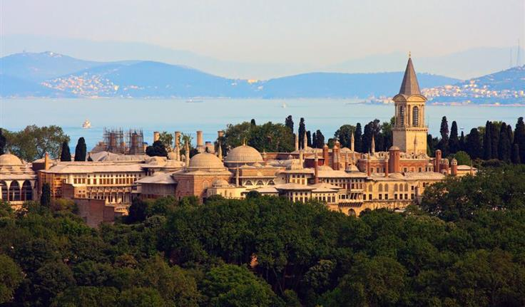 Istanbul, Topkapipaleis