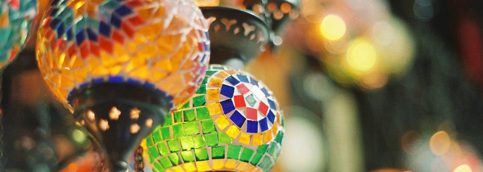 Istanbul, Winkelen oosterse lampjes Istanbul