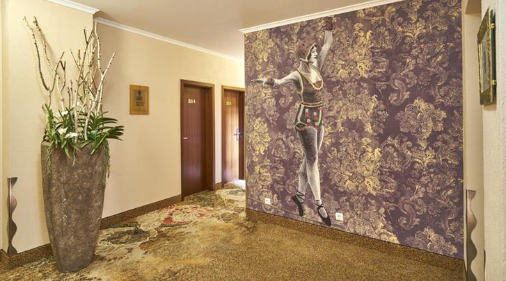 Keulen, Hotel Classic Harmonie, Hal