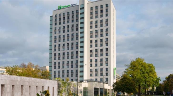Keulen, Hotel Holiday Inn Express Cologne City Centre, Façade hotel