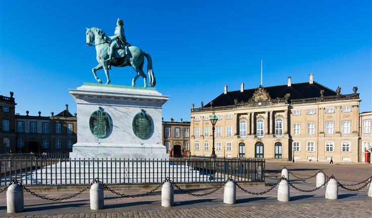 Kopenhagen, Amalienborg Paleis