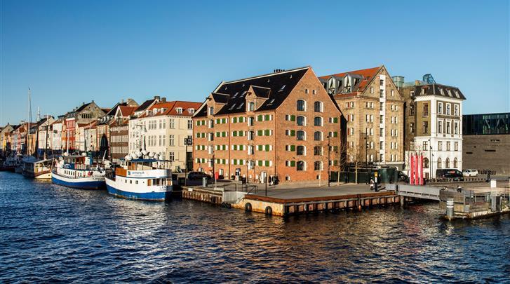 Kopenhagen, Hotel 71 Nyhavn, Façade hotel
