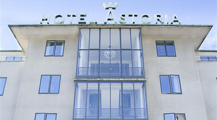 Kopenhagen, Hotel Astoria (CPH), Façade hotel