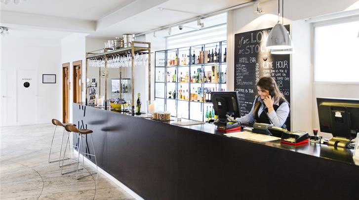 Kopenhagen, Hotel Astoria (CPH), Lobby bar
