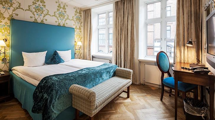 Kopenhagen, Hotel First Mayfair, Standaard kamer