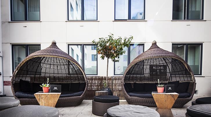 Kopenhagen, Hotel First Twentyseven, Lounge-terras