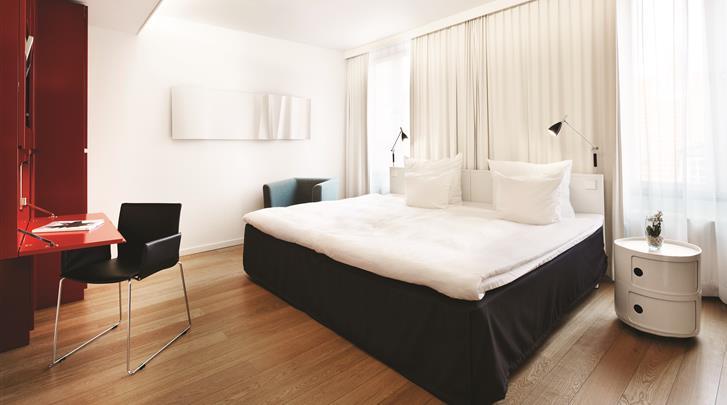 Kopenhagen, Hotel First Twentyseven, Standaard kamer