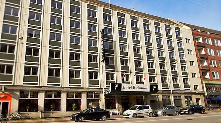 Kopenhagen, Hotel Richmond, Façade hotel