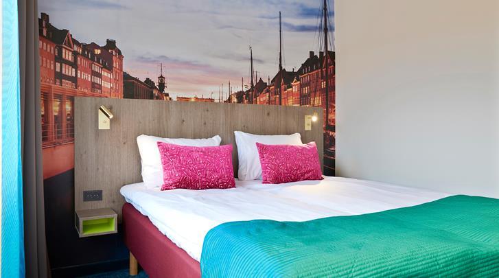Kopenhagen, Hotel Richmond, Standaard kamer