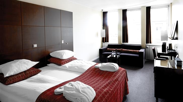 Kopenhagen, Hotel The Square, Superior kamer