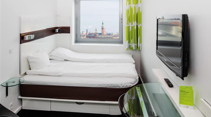 Kopenhagen, Hotel Wakeup Copenhagen Carsten Niebuhrsgade, Standaard kamer