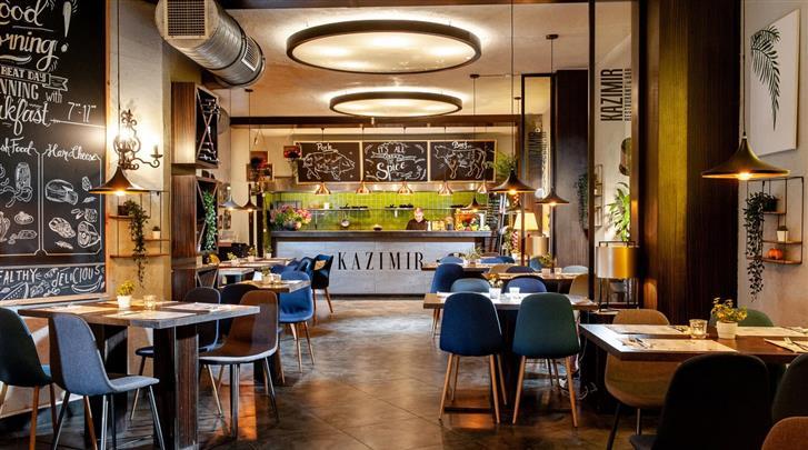 Krakau, Aparthotel Spatz, Restaurant 'Kazimir'