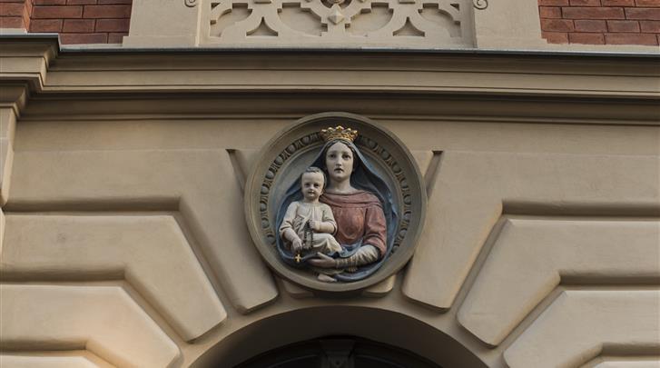 Krakau, Belle Epoque Residence, Gebouw detail
