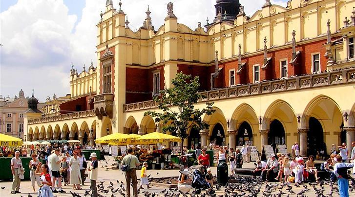 Krakau, Hotel Alexander I, Op 500m van het Marktplein 'Rynek Glówny'