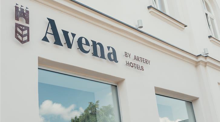 Krakau, Hotel Avena, Façade hotel