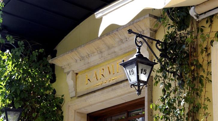 Krakau, Hotel Karmel, Façade hotel