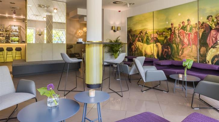 Krakau, Hotel Kossak, Lobby