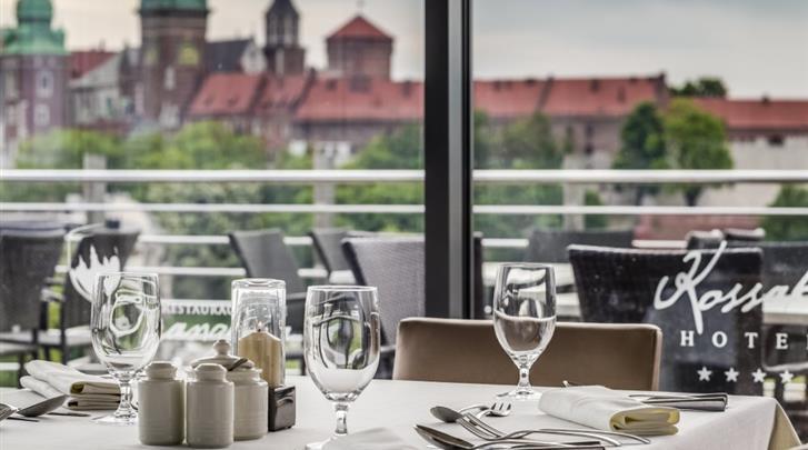 Krakau, Hotel Kossak, Restaurant 'Oranzeria'