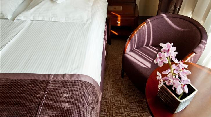 Krakau, Hotel Kossak, Standaard kamer