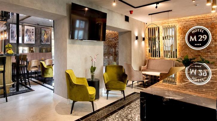 Krakau, Hotel M29, Lobby