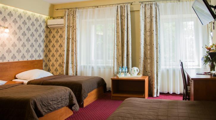 Krakau, Hotel Maksymilian, Driepersoonskamer voorbeeld