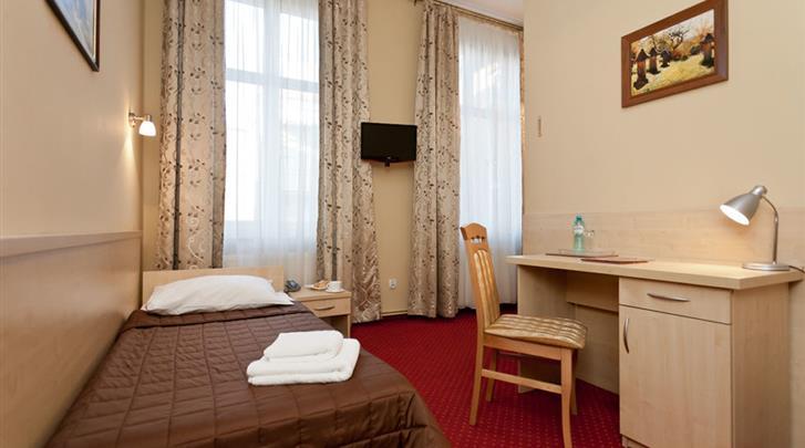 Krakau, Hotel Maksymilian, Eenpersoonskamer voorbeeld