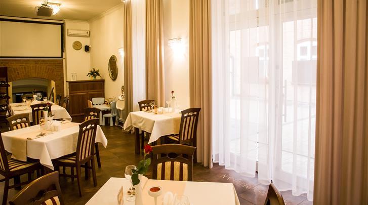 Krakau, Hotel Maksymilian, Restaurant