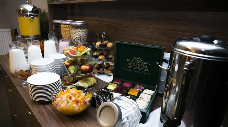 Krakau, Hotel Maximum, Ontbijtbuffet