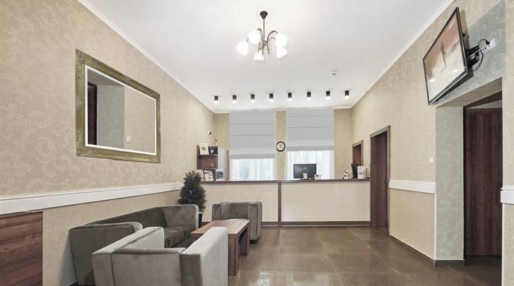 Krakau, Hotel Maximum, Receptie
