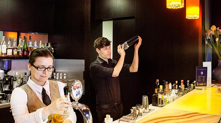Krakau, Hotel Niebieski Art, Hotel bar