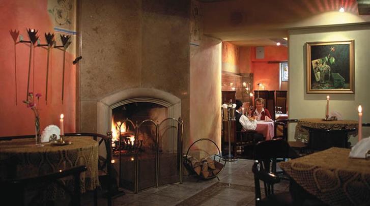 Krakau, Hotel Niebieski Art, Restaurant-Pizzeria 'Il Fresco'