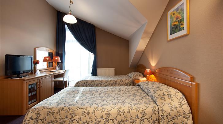 Krakau, Hotel Pension Blue Swan, Kamervoorbeeld