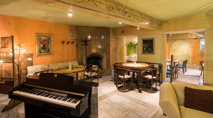 Krakau, Hotel Pension Blue Swan, Restaurant-Pizzeria 'Il Fresco'