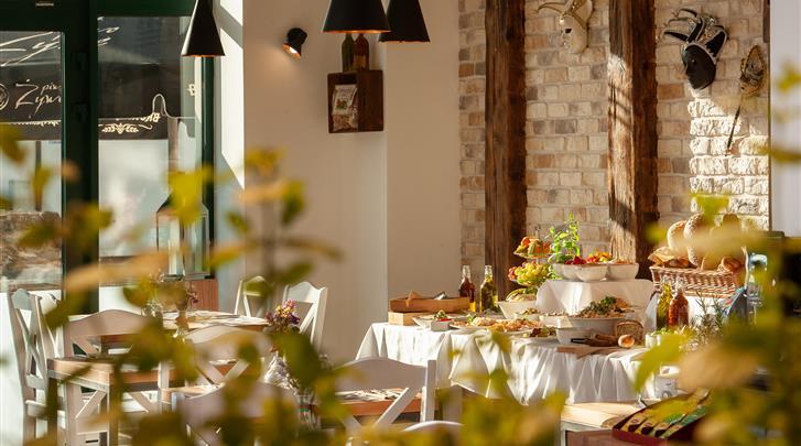 Krakau, Hotel Plaza Boutique, Restaurant