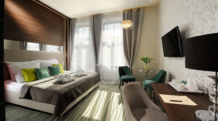 Krakau, Hotel Plaza Boutique, Standaard kamer