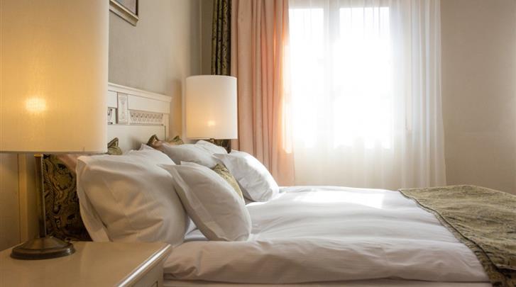 Krakau, Hotel Rubinstein, Kamervoorbeeld