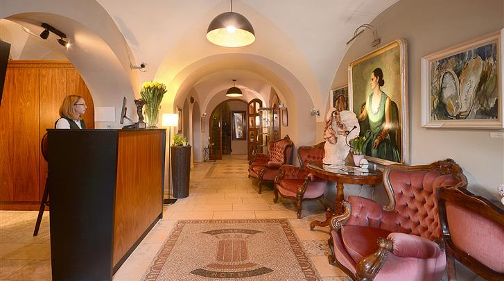 Krakau, Hotel Rubinstein, Receptie